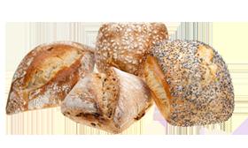 Pains Vendôme et pains cuits sur Sole