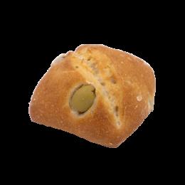 Pain pavé olives