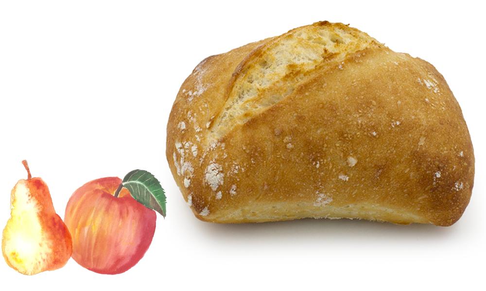 Pain pomme poire