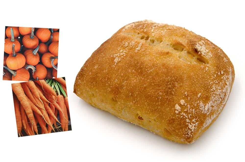 Pain carotte-potiron