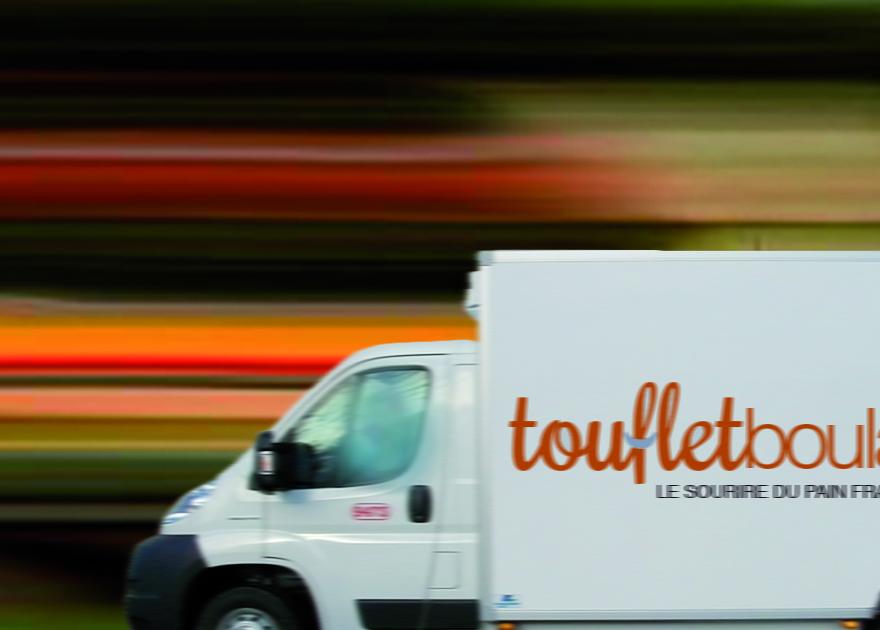 Camion de livraison de pain